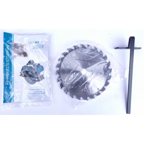 Пила дисковая Kraissmann 1400 KS 190