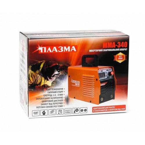 Сварочный инвертор Плазма ММА-340