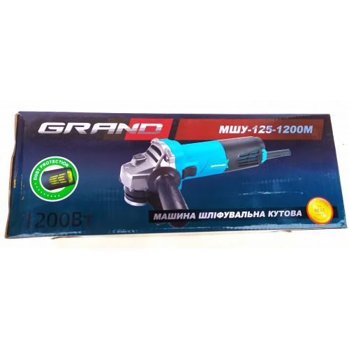 Болгарка Grand МШУ-125/1200М