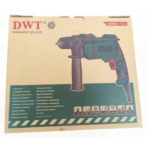 Дрель ударная DWT SBM07-13C