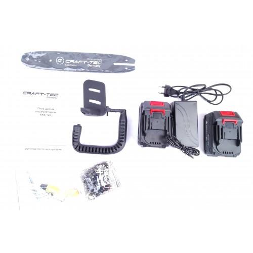 Аккумуляторная цепная пила Сraft-tec EKS-12С