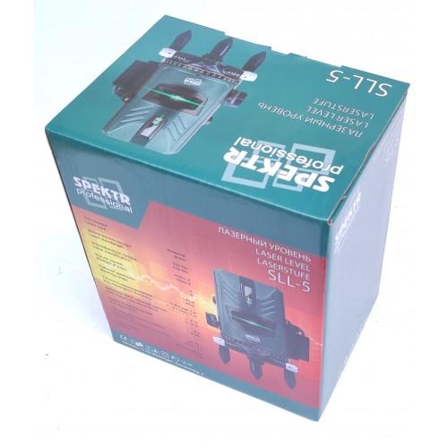 Лазерный уровень Spektr SLL-5 зеленый луч