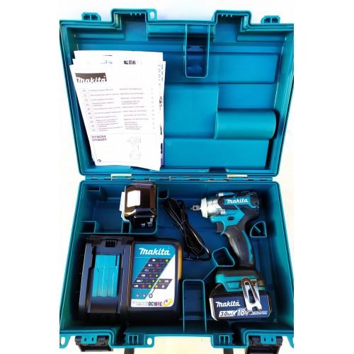 Аккумуляторный ударный гайковерт Makita DTW 285 RFE