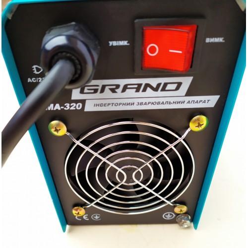 Сварочный инвертор Grand ММА-340А