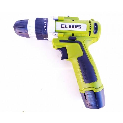 Шуруповерт аккумуляторный Eltos ДА-12Li