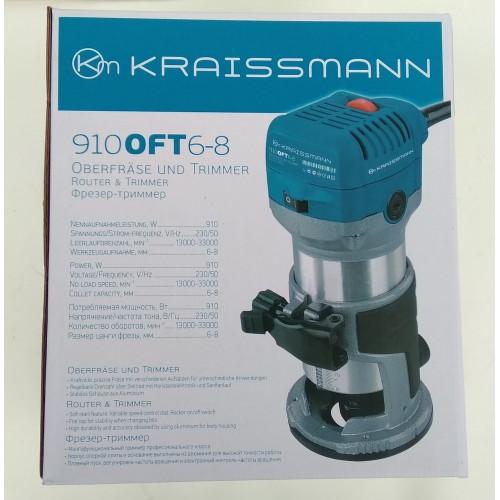 Фрезер KRAISSMANN OFT 910 6-8 (2 базы)