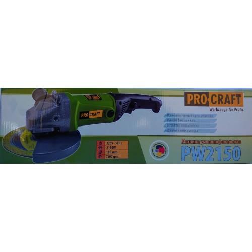Угловая шлифмашина PROCRAFT PW-2150 180 мм