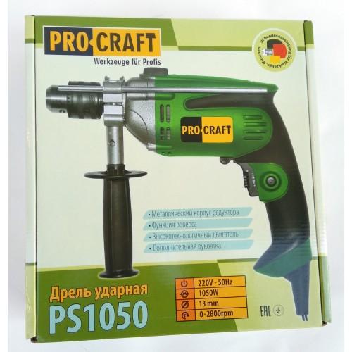 Дрель ударная Procraft PS1050