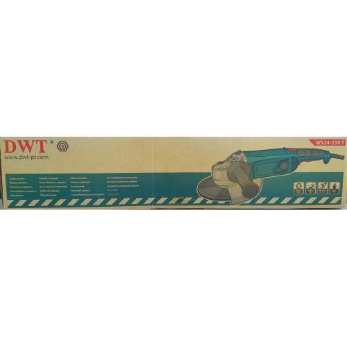 Угловая шлифмашина DWT WS24-230 Т