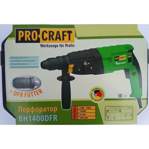 Перфоратор Procraft ВН1400 DFR