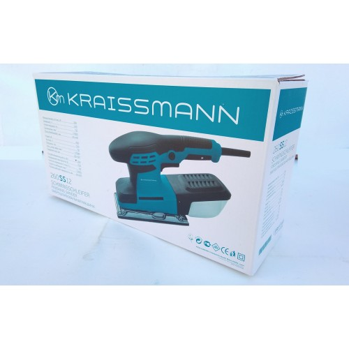 Вибрационная шлифовальная машина Kraissmann 260SS 12