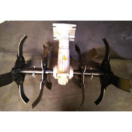 Насадка культиватор вал 28мм для бензокос (мотокос)