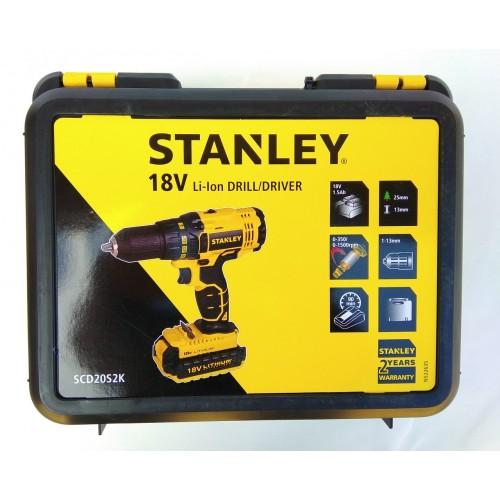 Шуруповерт аккумуляторный Stanley SCD20S2K