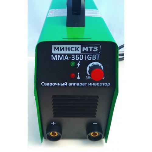 Сварочный инвертор Минск МСА-360 (Кейс)