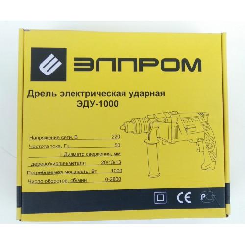 Дрель ударная Элпром ЭДУ-1000