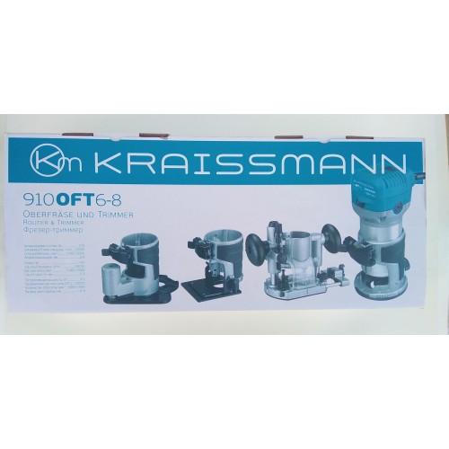 Фрезер KRAISSMANN OFT 910 6-8 (4 базы)