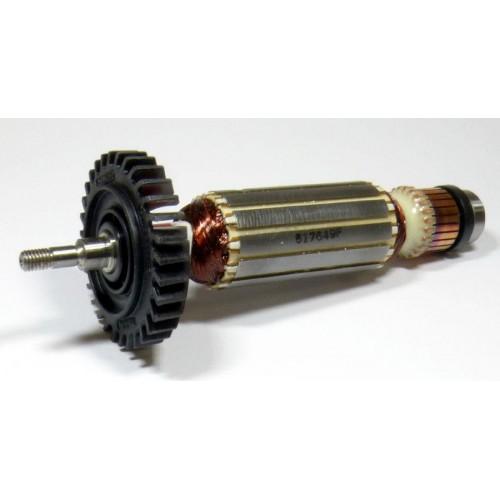 Якорь (ротор) угловой шлифмашины (болгарки) Makita GA5030 517649-4