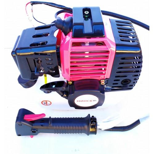Комплект мотокоса Минск МТЗ МБТ-6100 и Крепление для лодочного мотора Craft-tec CT-OE820 в подарок